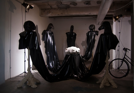 Systematic longing, perfect waiting - installation view
